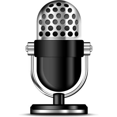 Podcast Clipart Microphone - Microphone HD PNG