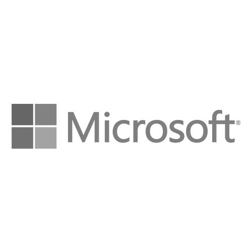 Microsoft Logo Grey - Krotos - Microsoft Logo PNG