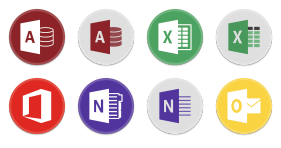 Button UI MS Office 2016 Icons - Microsoft Office PNG Download