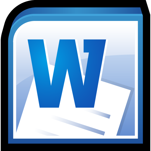 Microsoft Office Word Icon 512x512 png - Microsoft Office PNG Download