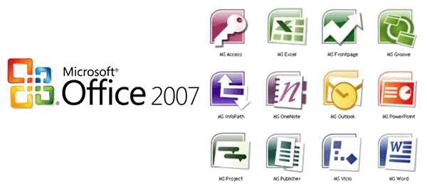 Microsoft Office 2007 Professional Plus Features - Office 2007 PNG HD - Microsoft Office PNG HD