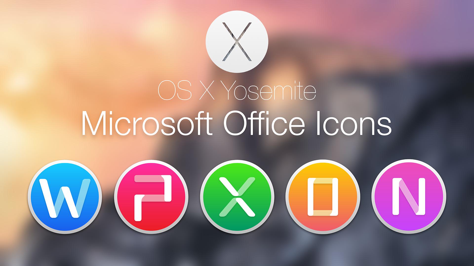 Microsoft Office 2011 Yosemite Style By Hamzasaleem Microsoft Office 2011  Yosemite Style By Hamzasaleem - Microsoft Office PNG HD