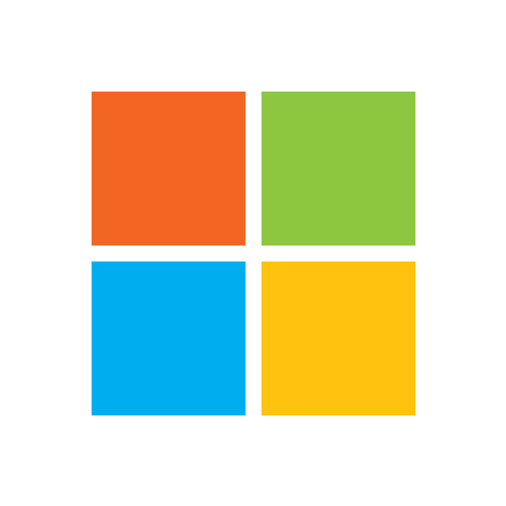 Microsoft Logo Icon PNG Transparent Background - Microsoft PNG