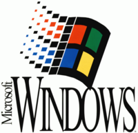 Microsoft Windows Logo from 1992 to 2000.png - Microsoft Windows PNG