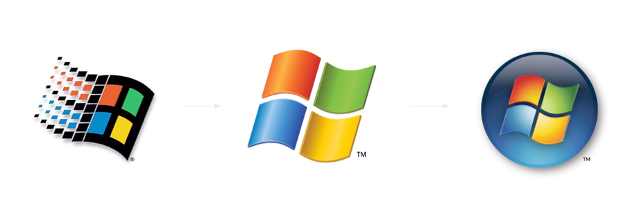 windowsEvolution png large pngWindows 95 Png Windows PlusPng.com  - Microsoft Windows PNG