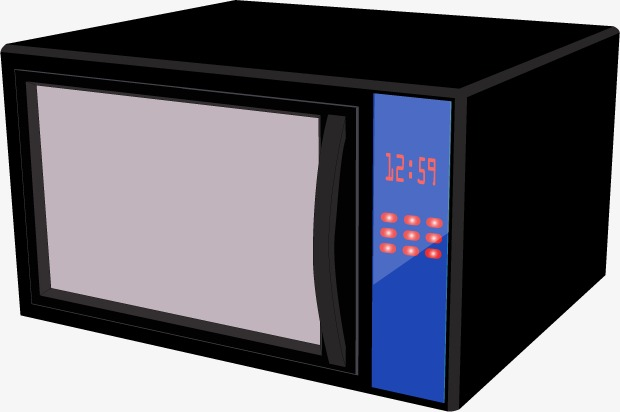 Vector Microwave, HD, Vector, Black Free PNG and Vector - Microwave HD PNG