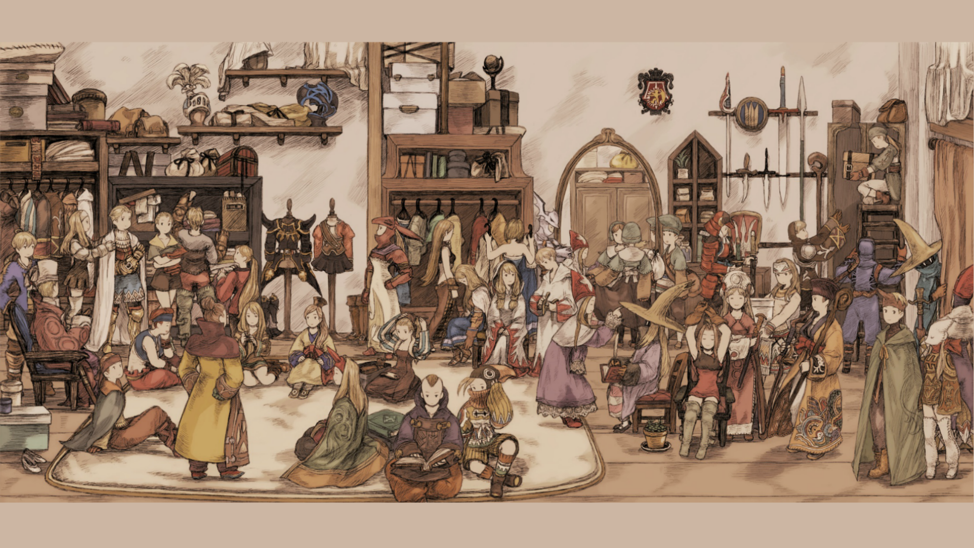 . PlusPng.com Final Fantasy Tactics, Delita, Ramza, Agrias, Job System, Black Mage,  Time Mage, ART, collection, ancient history, christmas decoration, middle  ages PlusPng.com