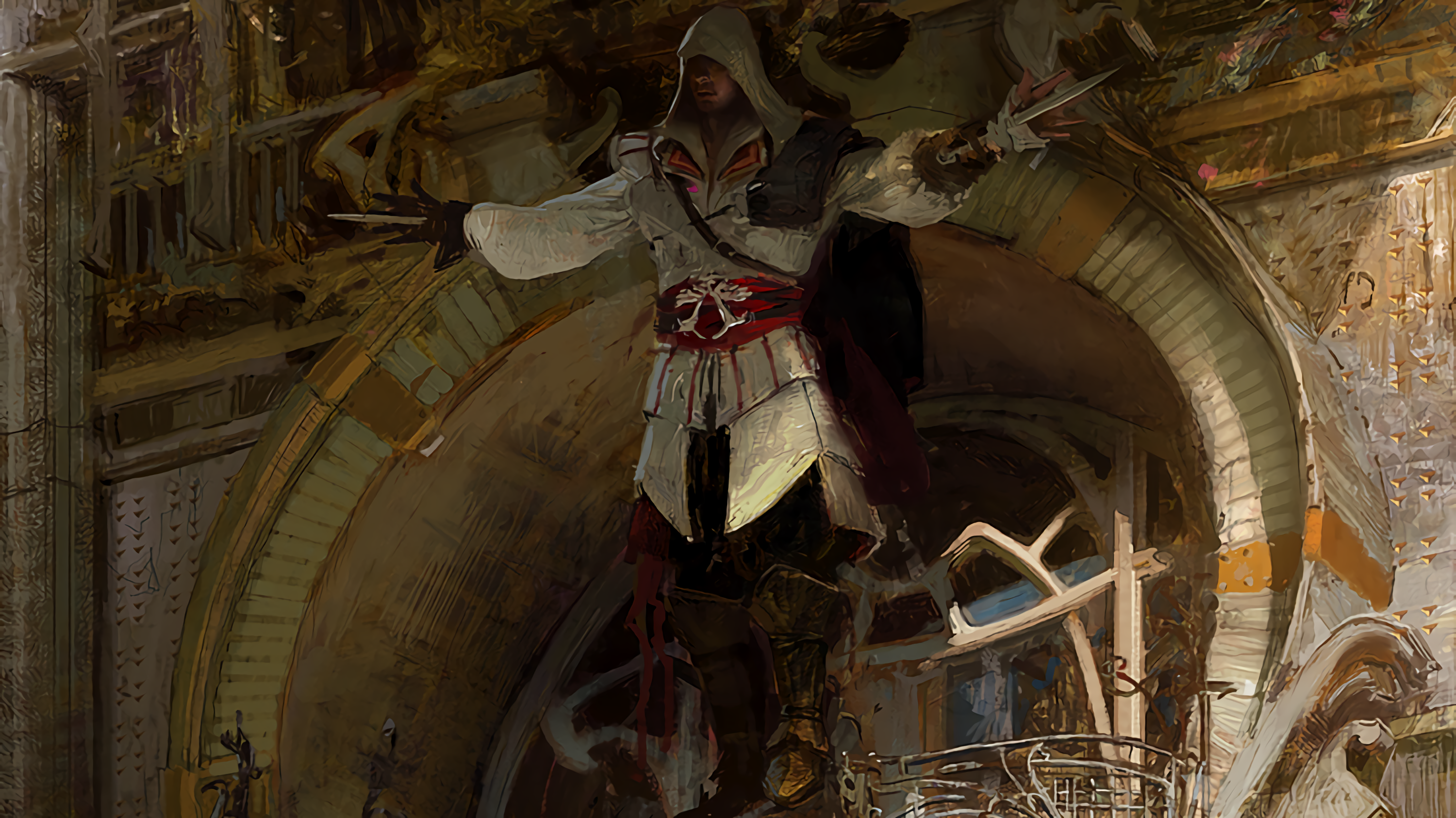 temple Assassinu0027s Creed Ezio Auditore da Firenze Assassinu0027s Creed  Brotherhood ancient history middle ages - Middle Ages PNG HD