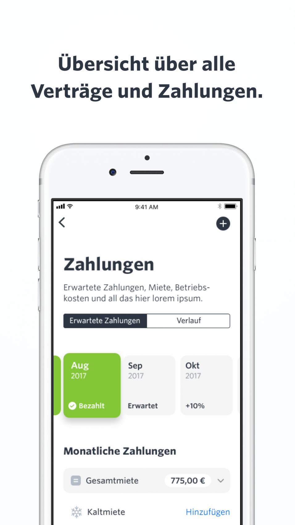 Die Home App verknüpft sich mit deiner Bank und erinnert dich so  automatisch daran ob alle deine Mieter ihre Miete gezahlt haben. - Miete PNG