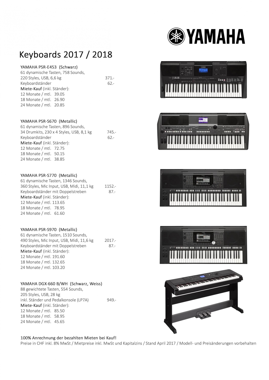 Digitalpianos 2016.jpg; Keyboards 2016.png PlusPng.com  - Miete PNG