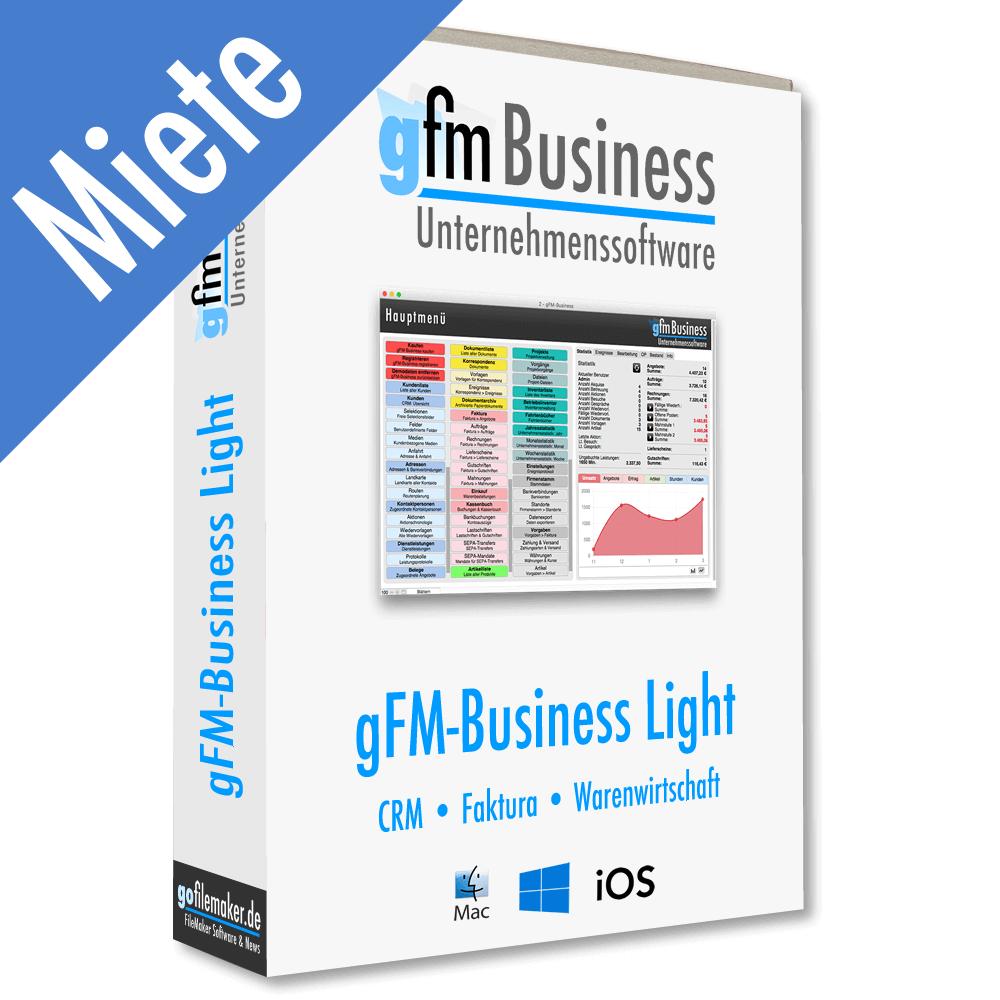 gFM-Business Light Warenwirtschaft - Miete PNG