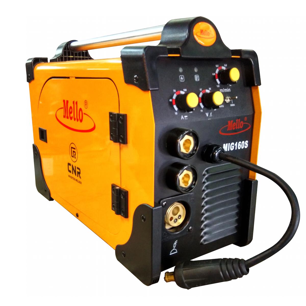 MELLO MIG Welding Machine 30-160AMP, 12kg MIG160S - Mig Welding PNG