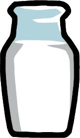 File:Milk Bottle.png - Milk Jug PNG HD