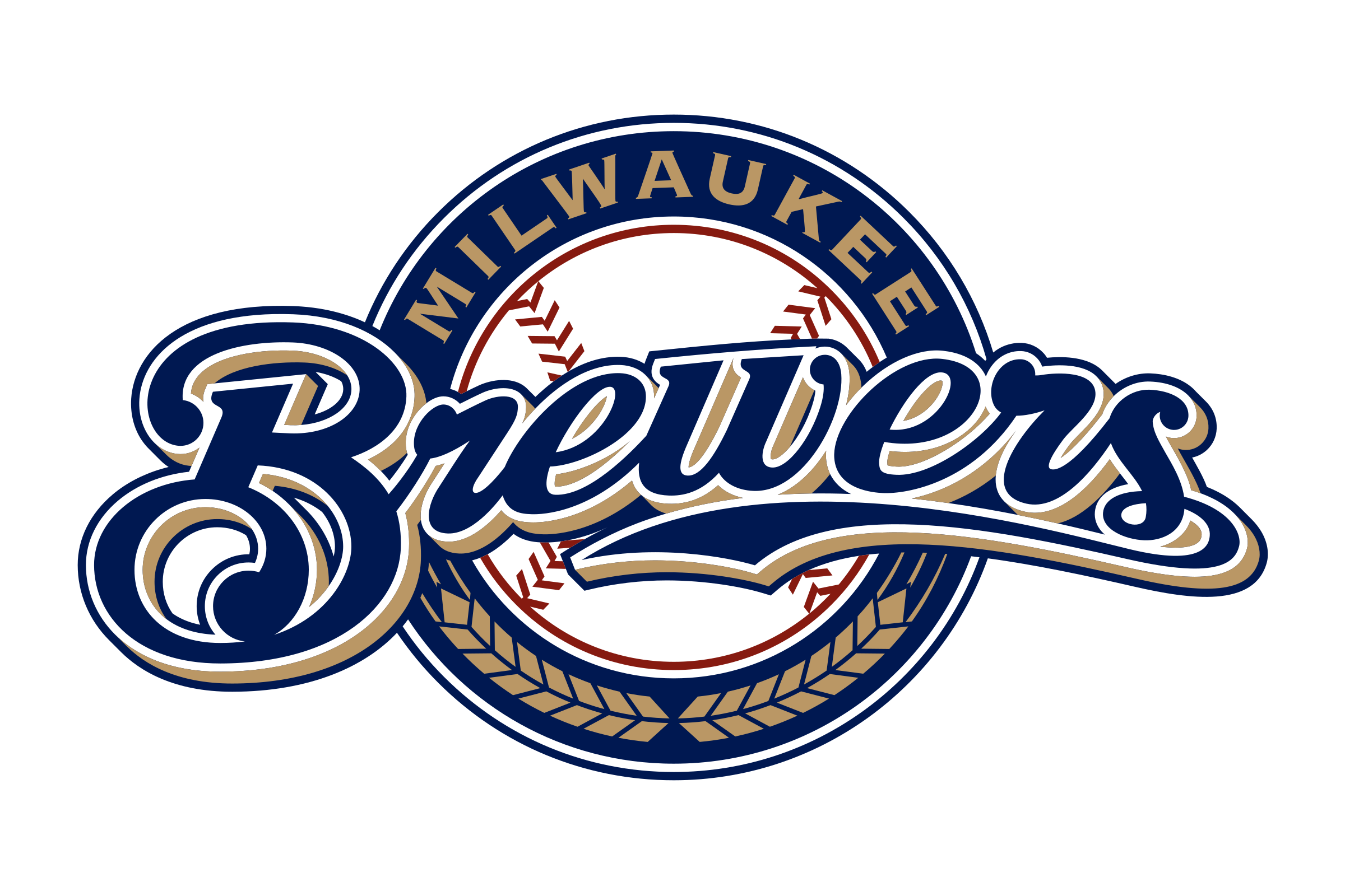 Milwaukee Brewers Logo PNG - 114928