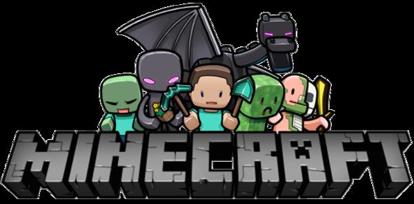 minecraft construction logo 8 - Minecraft PNG