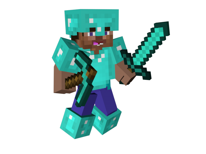 Minecraft HD PNG - 151596
