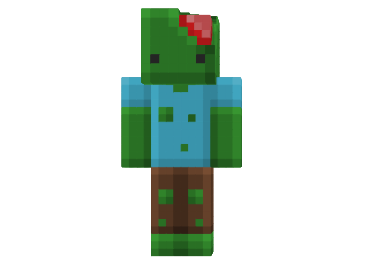 http://img.mod-minecraft pluspng.com/Skin/Zombie- - Minecraft HD PNG