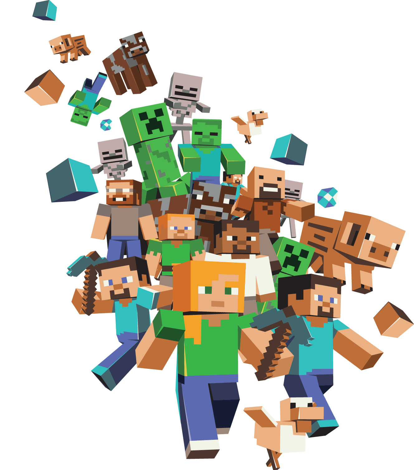 Minecraft HD PNG - 151582