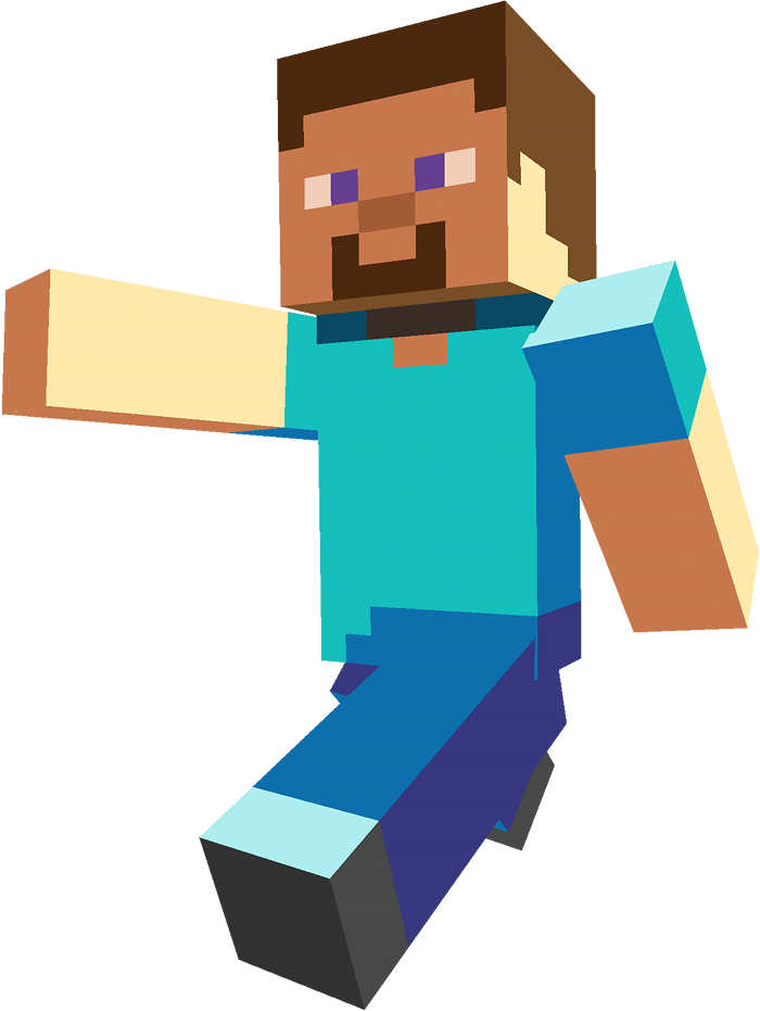 Minecraft Steve - Minecraft HD PNG