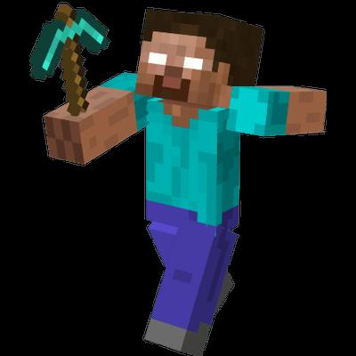 Minecraft Hero - Minecraft PNG