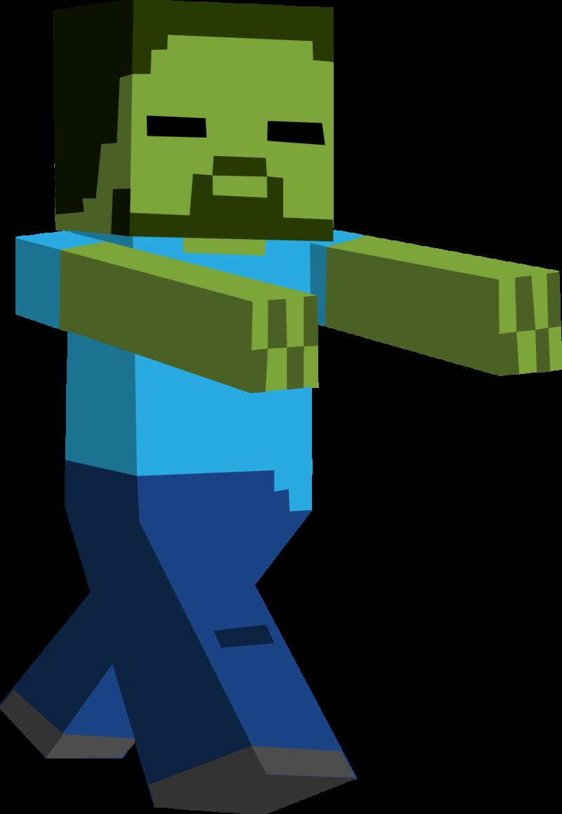 minecraft personnage 34 - Minecraft PNG