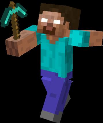 Minecraft Herobrine Png PNG I