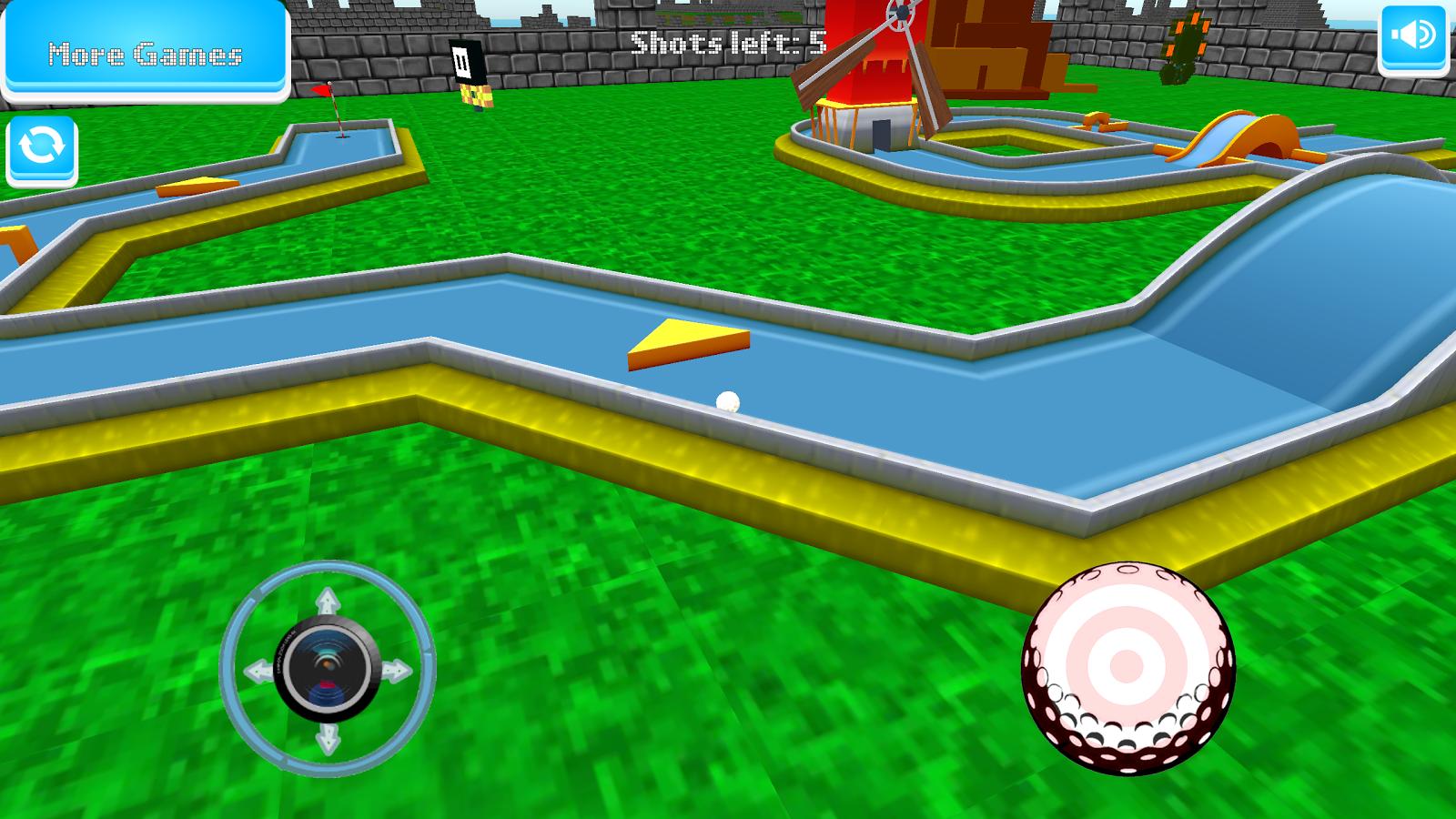 Crazy Mini Golf- screenshot - Mini Golf PNG HD