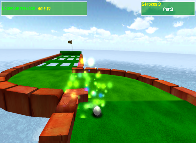 iPad Screenshots - Mini Golf PNG HD