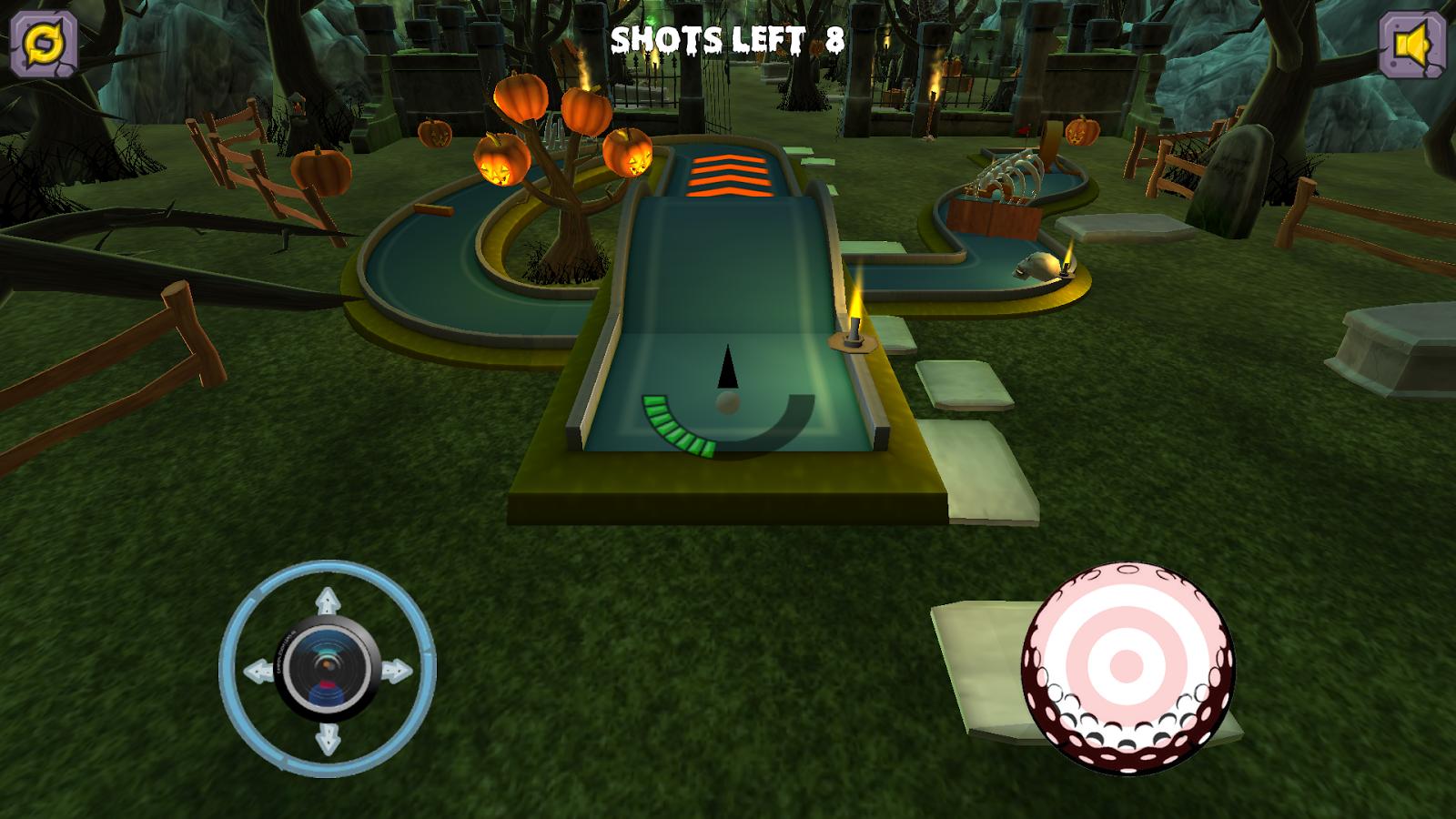 Mini Golf: Halloween- screenshot - Mini Golf PNG HD