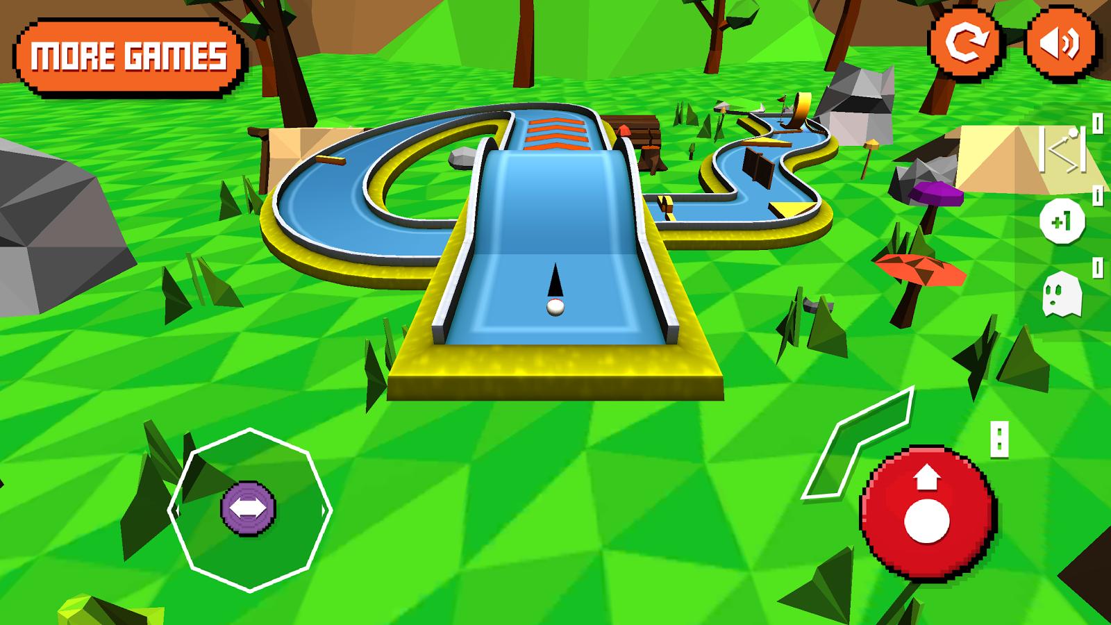 Mini Golf: Retro- screenshot - Mini Golf PNG HD