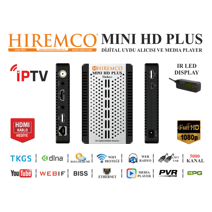 1092-hiremco-mini-hd-plus-hiremco-minihdplusspecs.png - Mini HD PNG