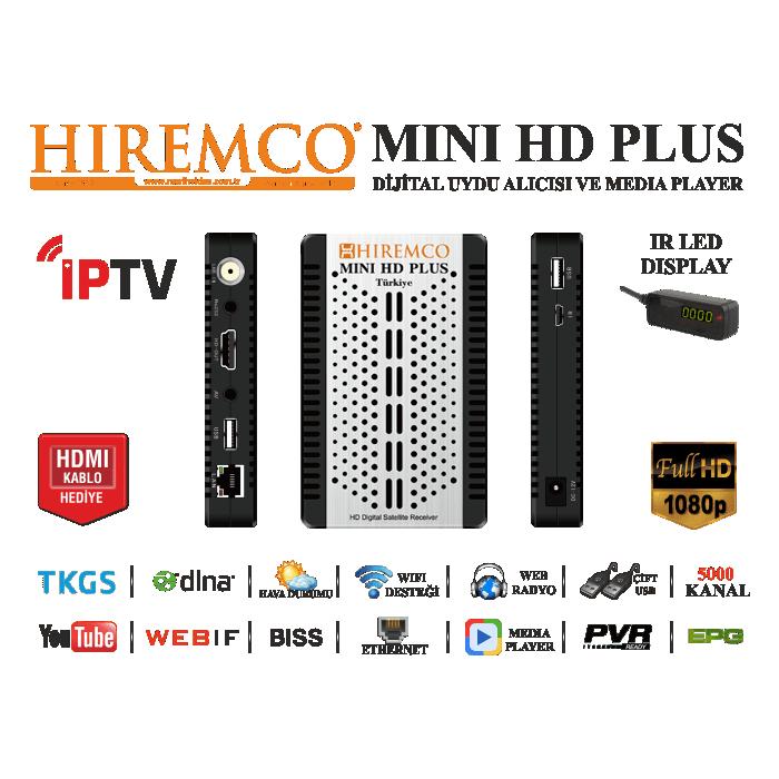1092-hiremco-mini-hd-plus-hiremco-minihdplusspecs.png - Mini HD PNG