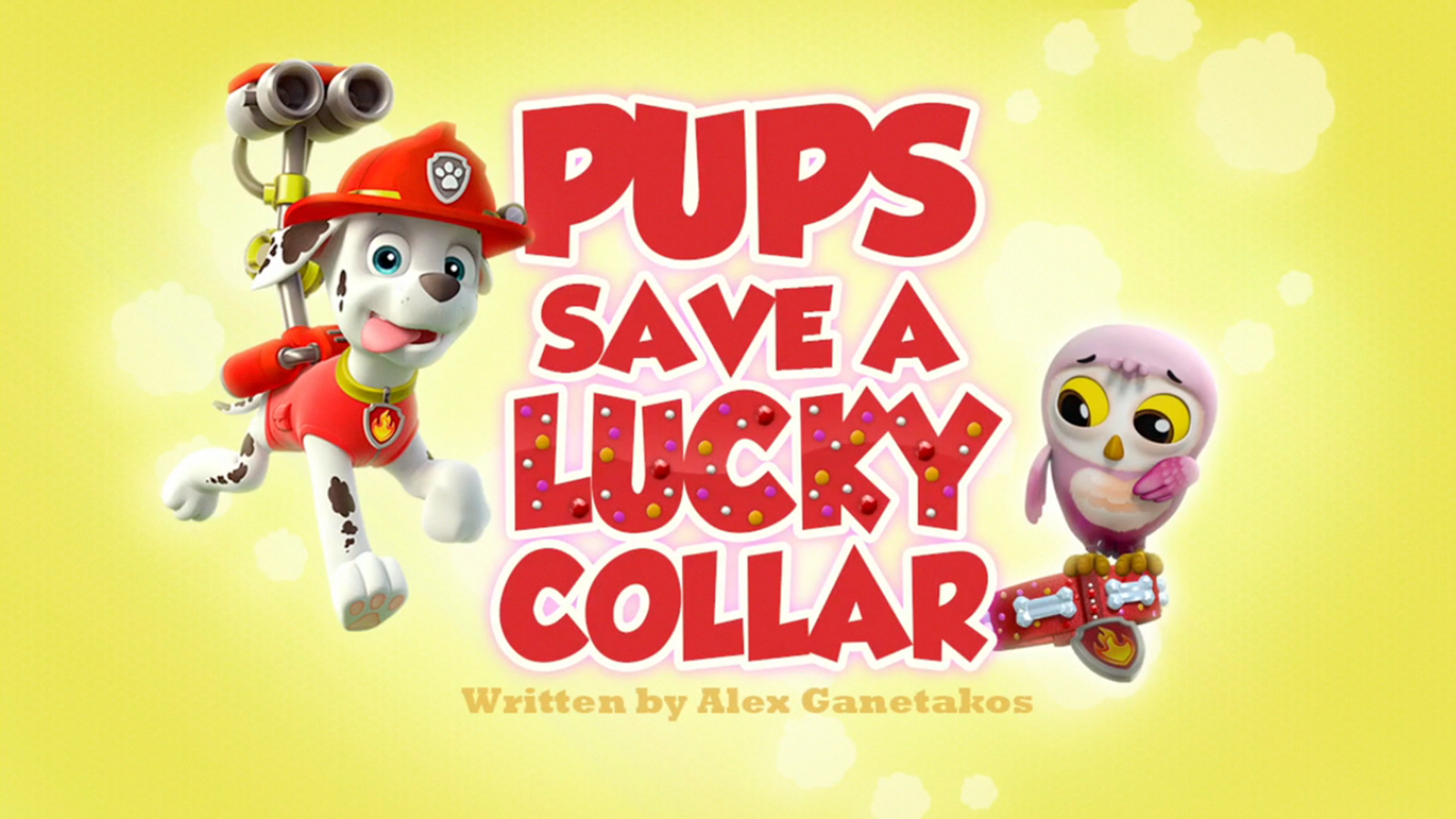 Pups Save a Lucky Collar (HD).png - Mini HD PNG