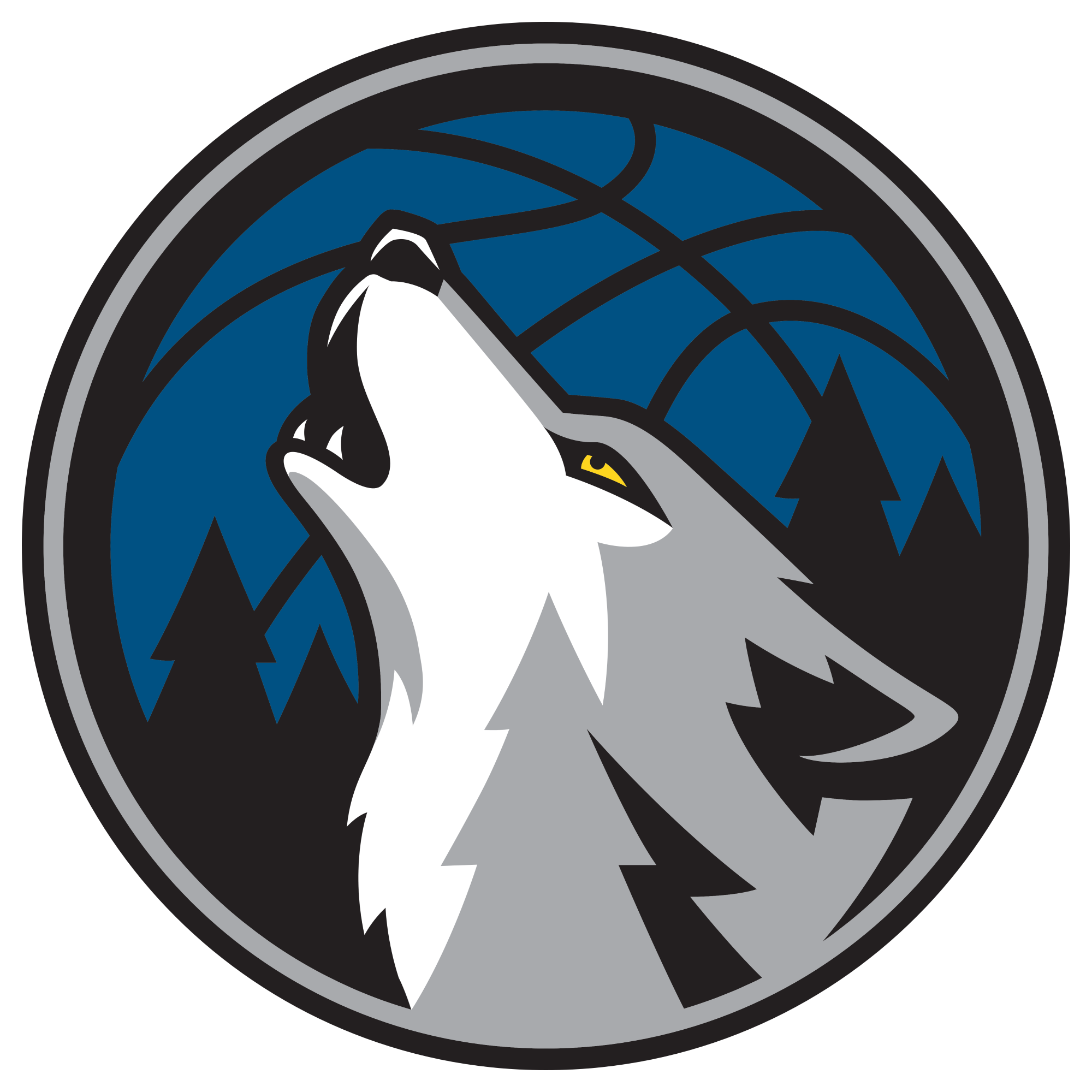 Minnesota Timberwolves officially unveil new logo - Minnesota Timberwolves  PNG - Minnesota Timberwolves PNG