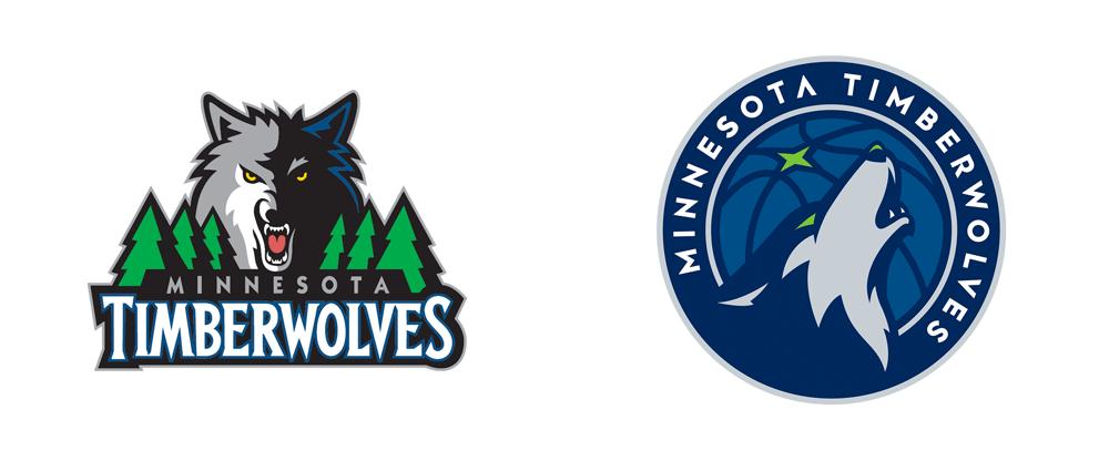 New Logo for Minnesota Timberwolves by Rare Design - Minnesota Timberwolves PNG