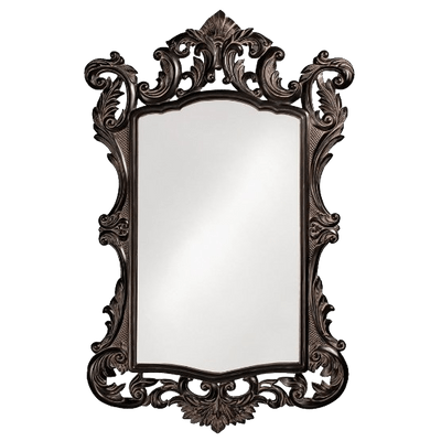 Vintage Bronze Mirror - Mirror PNG