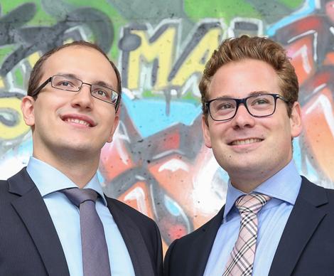 Sead Ahmetović und Benjamin Ruschin bieten mit VIENNA DIGITAL ab sofort  IT-Services für die Umsetzung digitaler Strategien an: u201eImmer mehr  Agenturen und PlusPng.com  - Mit Offenen Armen Empfangen PNG