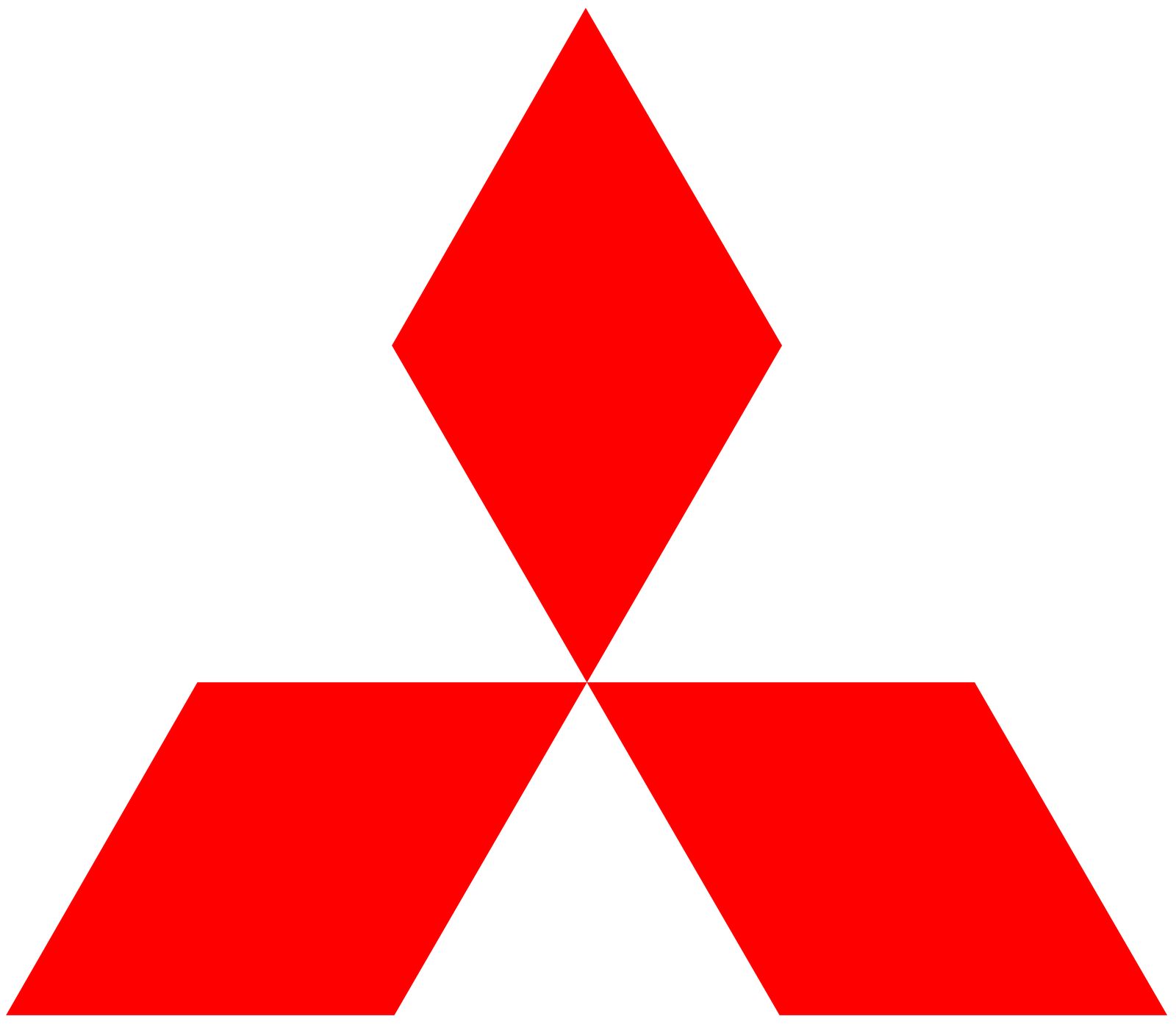 Mitsubishi car logo PNG brand