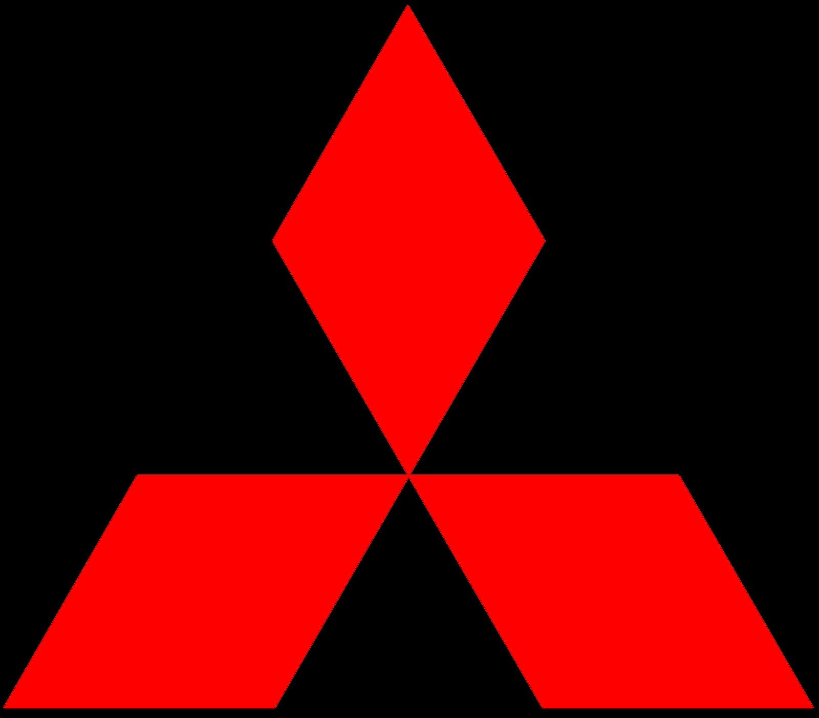 Mitsubishi car logo PNG brand image - Mitsubishi HD PNG