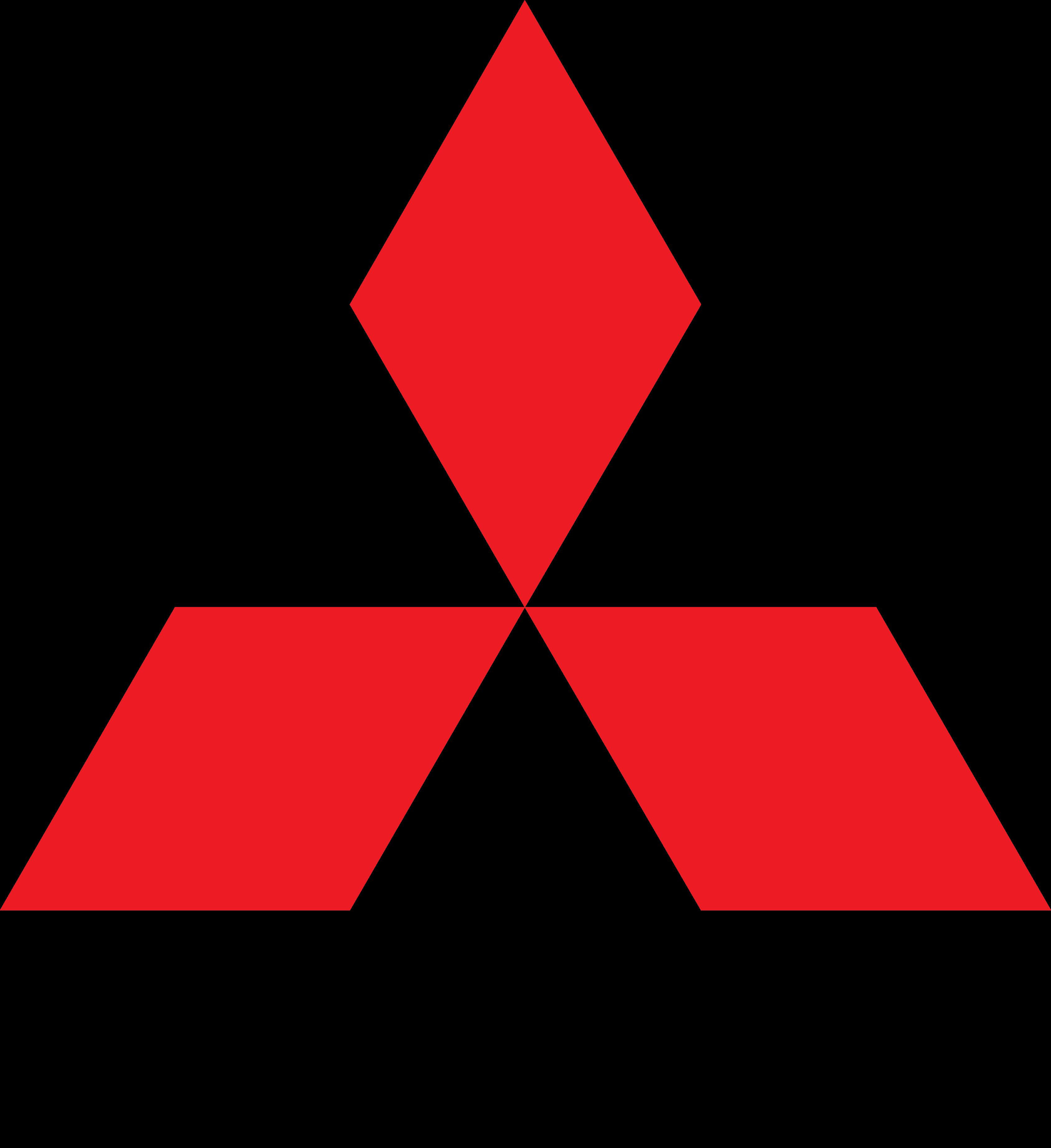 Mitsubishi logo PNG - Mitsubishi HD PNG
