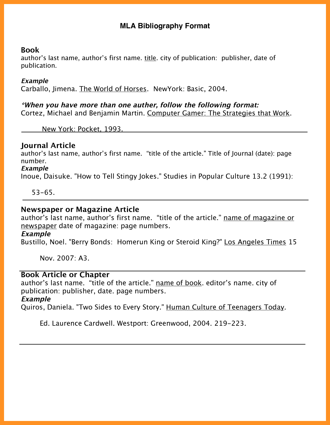 bibliography example mla style.bibliography example mla style.mla -bibliography-format-website-citation-example_81411.png - Mla PNG