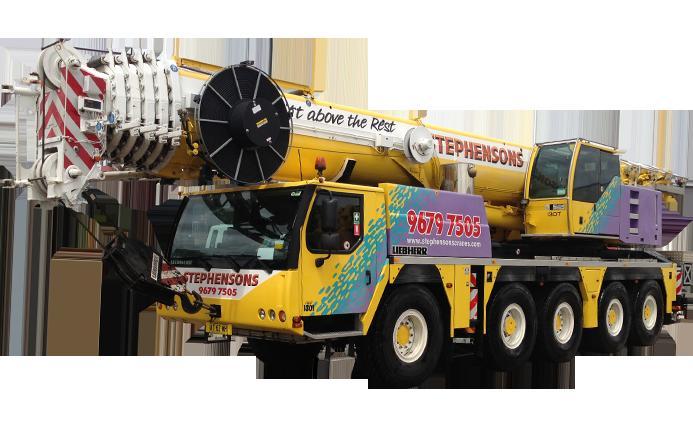 Mobile Crane PNG - 42304