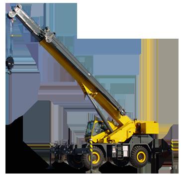 Crane PNG - Mobile Crane PNG