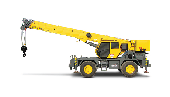 Grove to Show Updated RT540 at ConExpo 2014 - Mobile Crane PNG