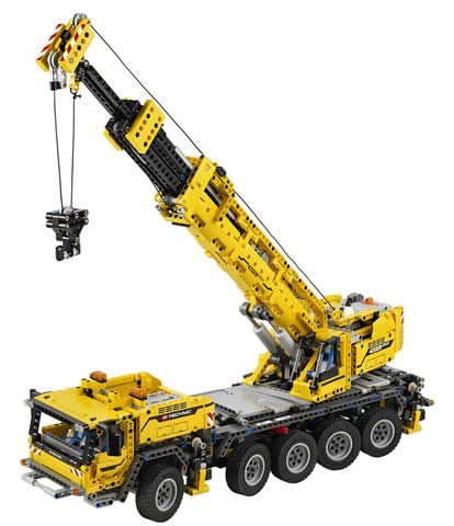 Lego Mobile Crane Mk II - Mobile Crane PNG