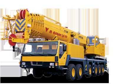 liebherr crane hire India, Kato crane hire India, p u0026 h cranes for hire,  crawler cranes hire - Mobile Crane PNG