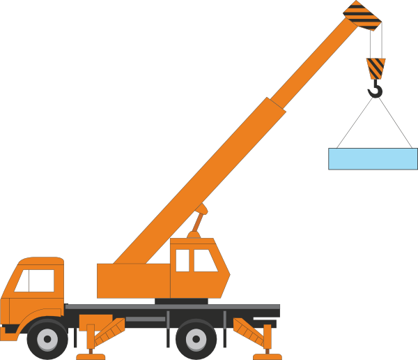 PNG: small · medium · large - Mobile Crane PNG
