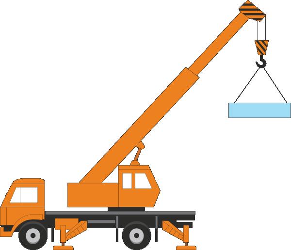 Mobile Crane PNG - 42303