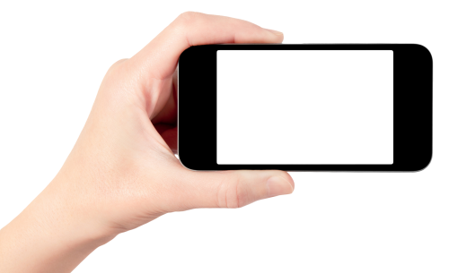 Mobile In Hand PNG - 42350