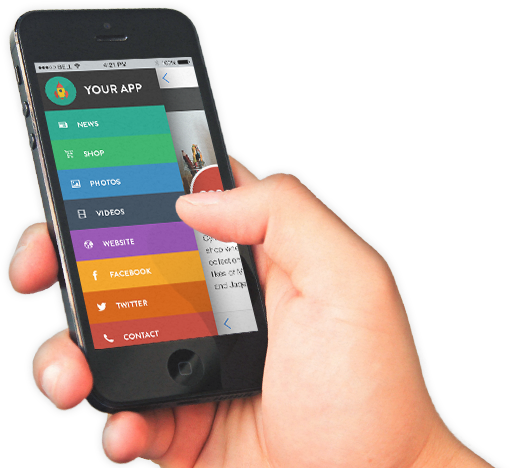 Mobile In Hand PNG - 42356